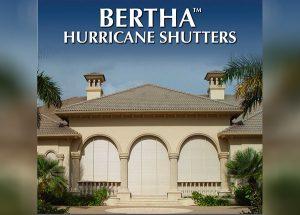 Bertha Hurricane Shutters