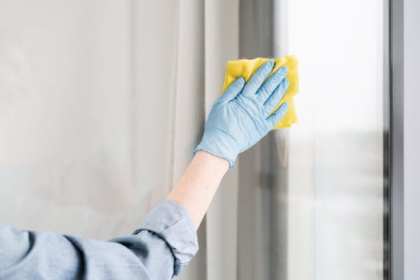 How to Properly Clean Impact Windows