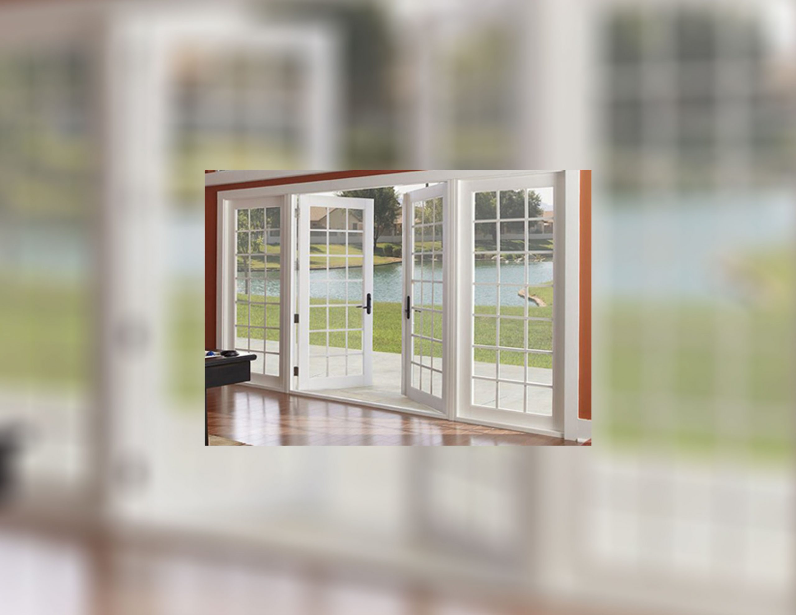A Multifunctional French Door for Home Improvement