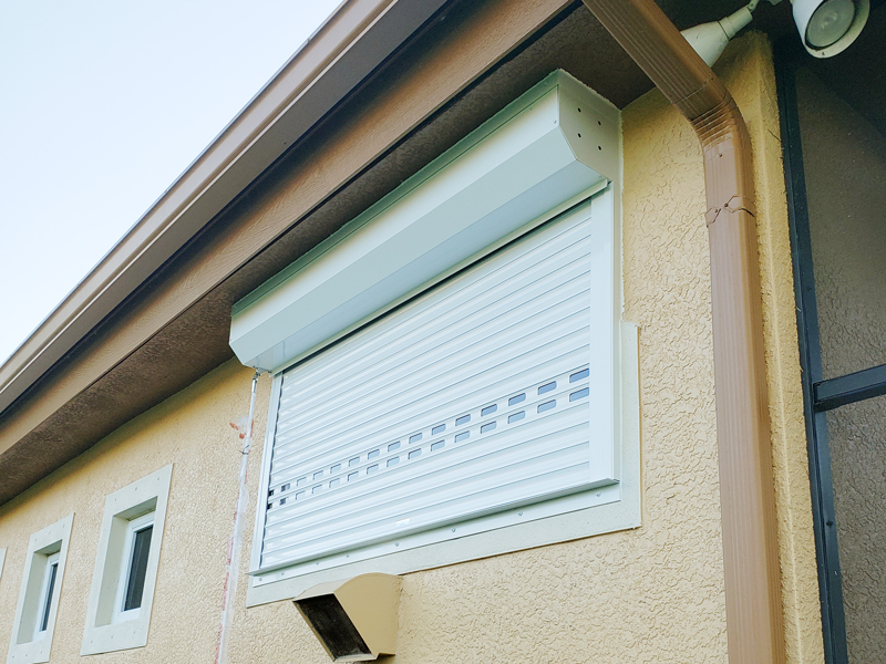 Hurricane Shutters that can Protect a home from Hurricane and Storm in Cape Coral, Florida
