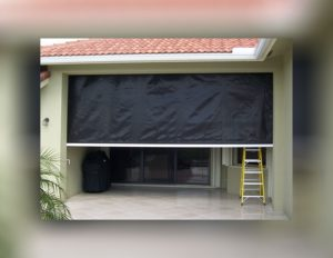 Hurricane Fabric Screens in Southwest Florida